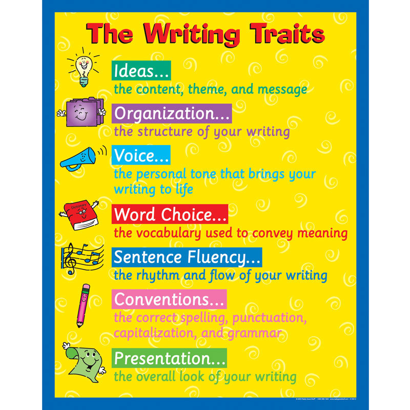 six traits of writing posters 18 results for 6 traits of writing posters amazon's choice for 6 traits of writing posters rdg 08 six-traits writing posters gr3/6 by scott foresman (2007-01-05.